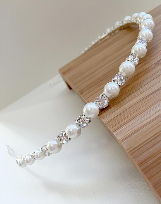 USABride Pearl & Rhinestone Headband Wedding Headbands photo