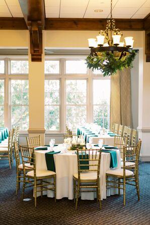 Indoor Reception at Ballantyne Country Club Wedding in Charlotte, North Carolina