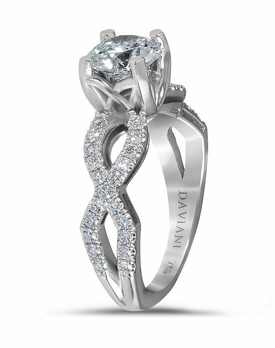 Daviani Love Links Collection DCR1075 Engagement Ring photo