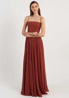 Jenny Yoo Collection (Maids) Renee Square Bridesmaid Dress