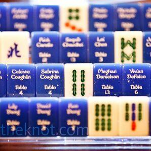 Mah-jongg Tile Escort Cards