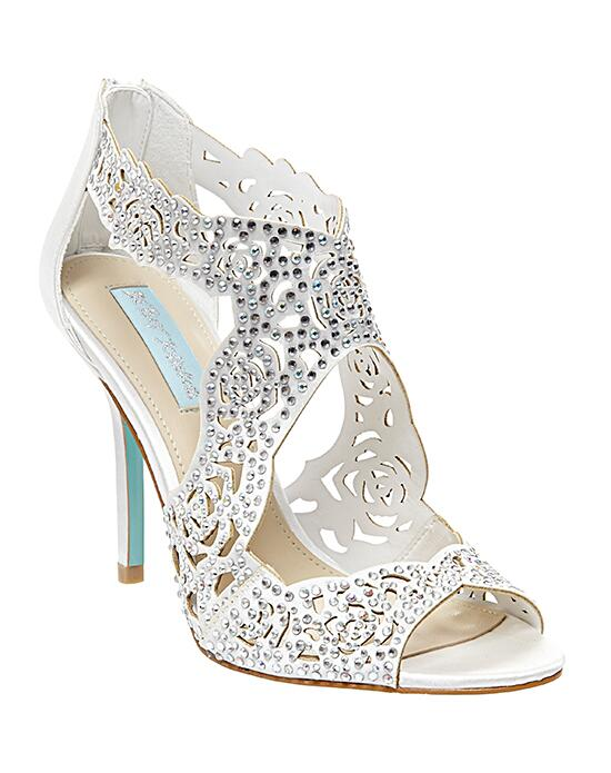 Blue By Betsey Johnson Sb Lucy Ivory Wedding Shoes The Knot