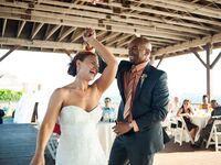 Oceanfront summer wedding in Newport, Rhode Island