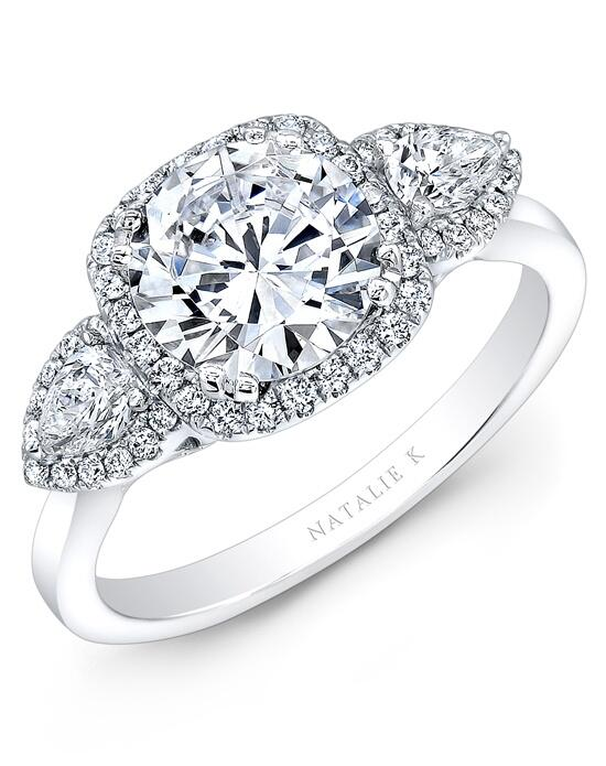 Natalie K Eternelle Collection - NK28373-18W Engagement Ring photo