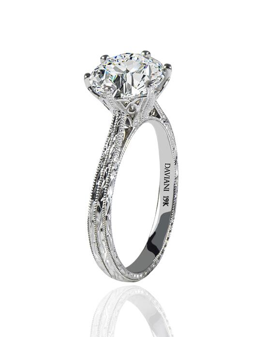 Daviani Love Links Collection DCR1132 Engagement Ring photo