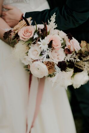 Bouquet for Wedding at The Space HTX in Houston, Texas