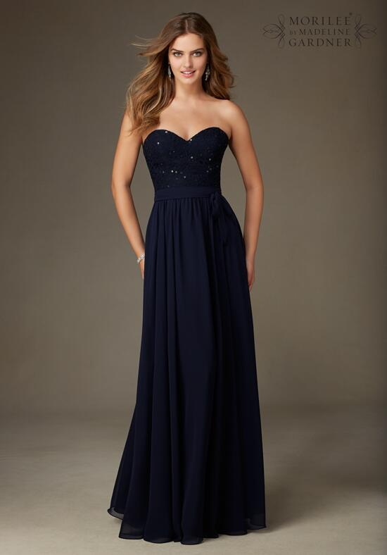 Mori Lee by Madeline Gardner Bridesmaids 128 Bridesmaid Dress photo