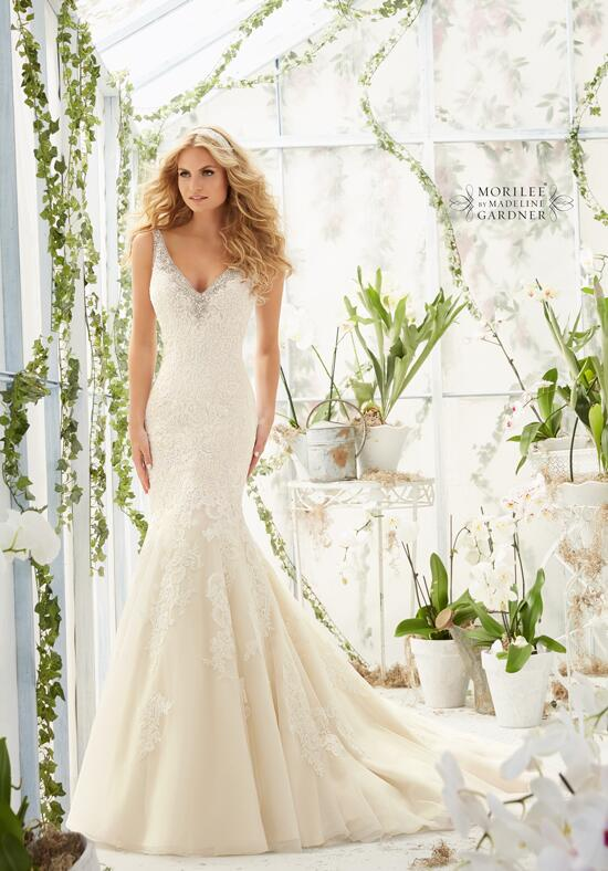 Mori Lee by Madeline Gardner 2803 Wedding Dress photo