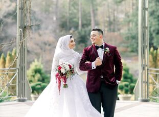 """For Deema and Khaled it was love at first sight, at a grocery store! """"Believe it or not, I met Khalid at a Harris Teeter about 9 years ago. I never th"""