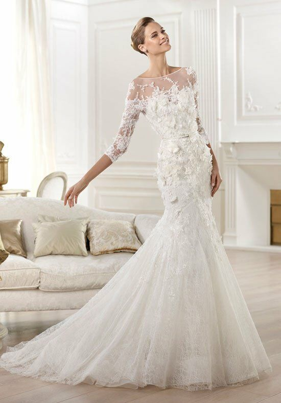 elie saab wedding dresses elie by elie saab for pronovias cygnus wedding dress the 3881