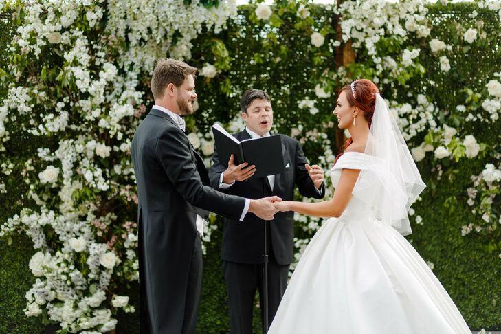 Wedding Ceremony on Governor's Island in New York