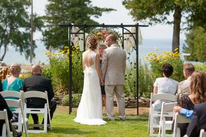 Outdoor Ceremony at Stafford's Bay View Inn
