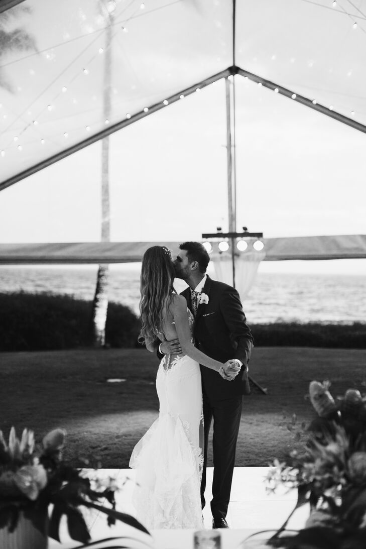 """""""Maui was the perfect place as it allowed us to have both our wedding and the first family vacation at the same time,"""" says Evgeniya."""