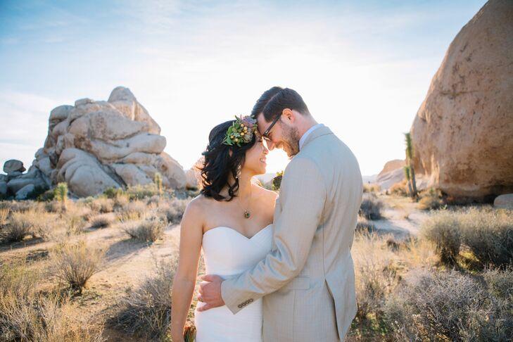 Rustic Couple at 29 Palms Inn in Twentynine Palms, California