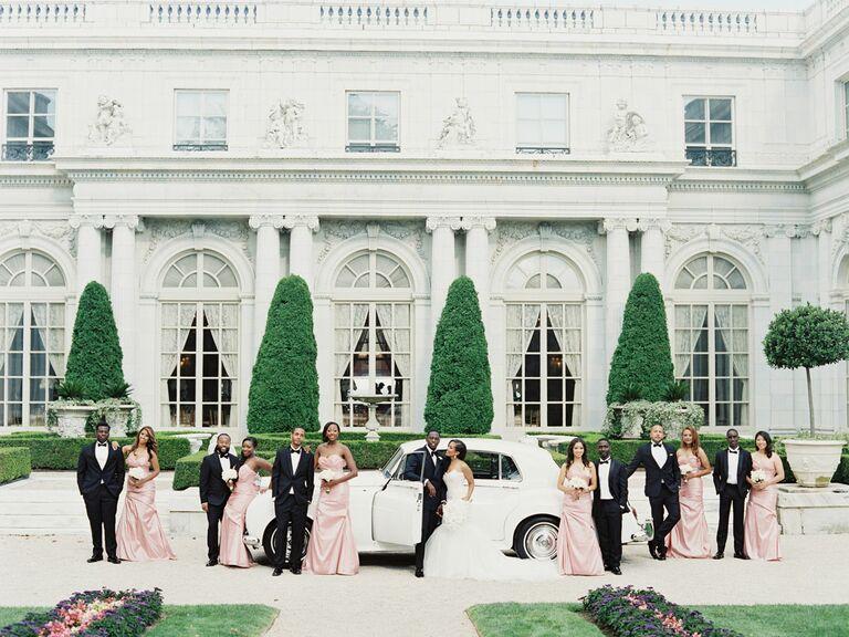 Rosecliff Mansion Rhode Island wedding venue