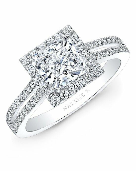Natalie K Princesse Collection - NK28103-W Engagement Ring photo