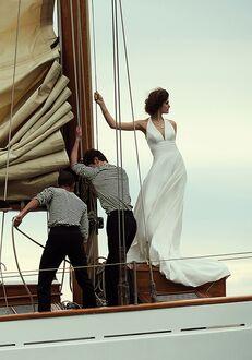 Justin Alexander Brooke A-Line Wedding Dress