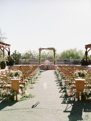 Wedding Ceremony at Four Seasons in Scottsdale, Arizona