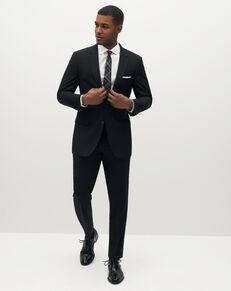 Suit Shop Men's Classic Black Suit Black Tuxedo