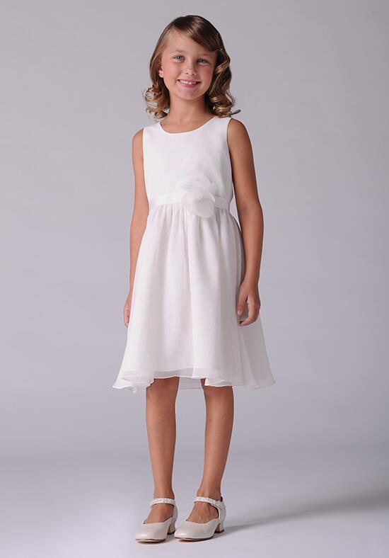 Us Angels Beautiful Color The Calla Lily Dress-107 Flower Girl Dress photo