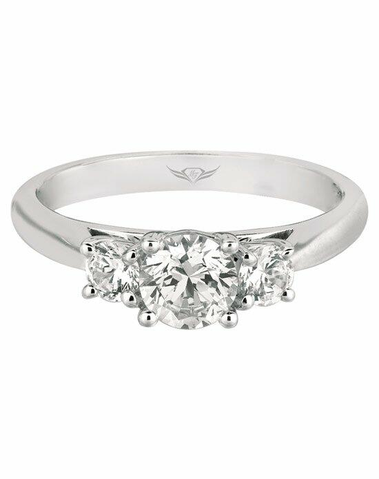 FlyerFit by Martin Flyer CT03XSRDQ-C-6.0RD Engagement Ring photo