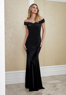 Jade Mother of the Bride by Jasmine J215058 Black Mother Of The Bride Dress