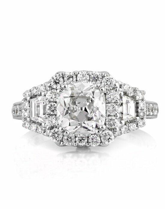 Mark Broumand 3.24ct Antique Cushion Cut Diamond Engagement Ring Engagement Ring photo