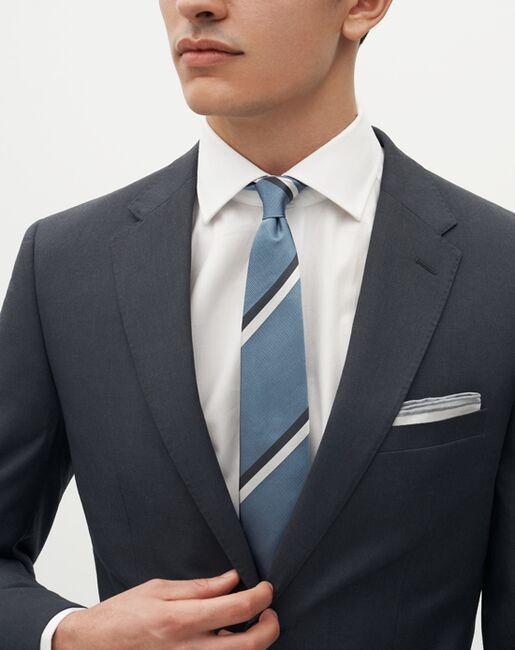 Suit Shop Men's Charcoal Gray Suit Gray Tuxedo