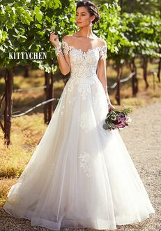 KITTYCHEN JESSICA, H1937 Ball Gown Wedding Dress