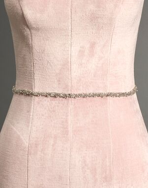 To Have & To Borrow Elyse Silver Sashes + Belt
