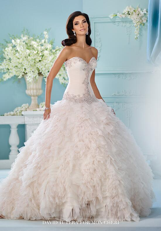 David Tutera for Mon Cheri 216260 Meena Wedding Dress photo