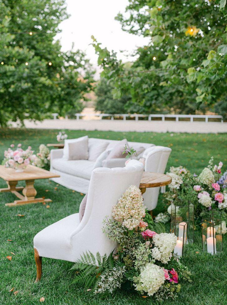 Lounge Area at Kestrel Park in Santa Ynez, California