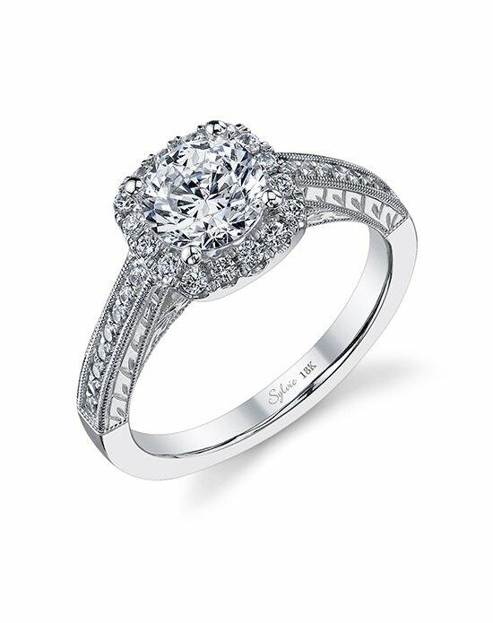 Sylvie Collection SY984 Engagement Ring photo