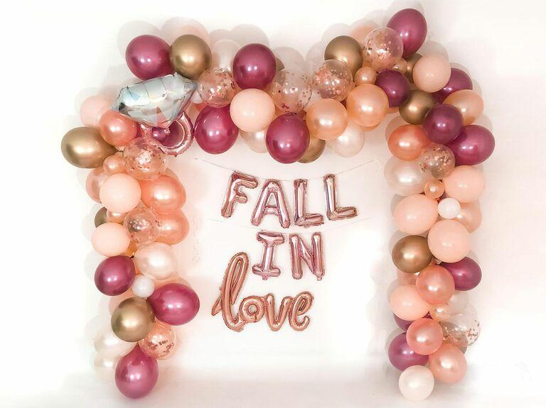 fall balloon arrangement