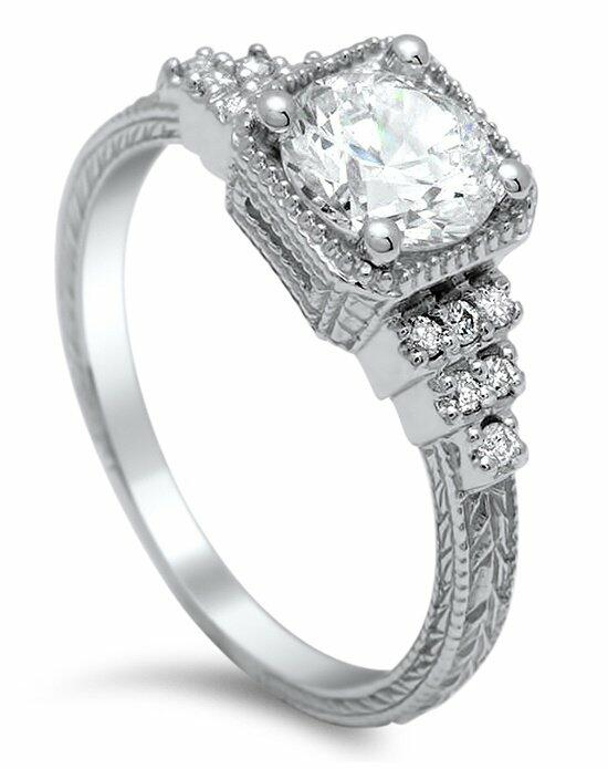Timeless Designs R1567 Engagement Ring photo