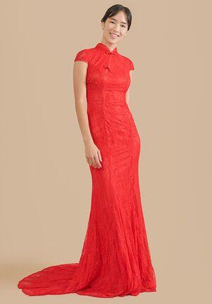 East Meets Dress Emma Bespoke Dress Mermaid Wedding Dress