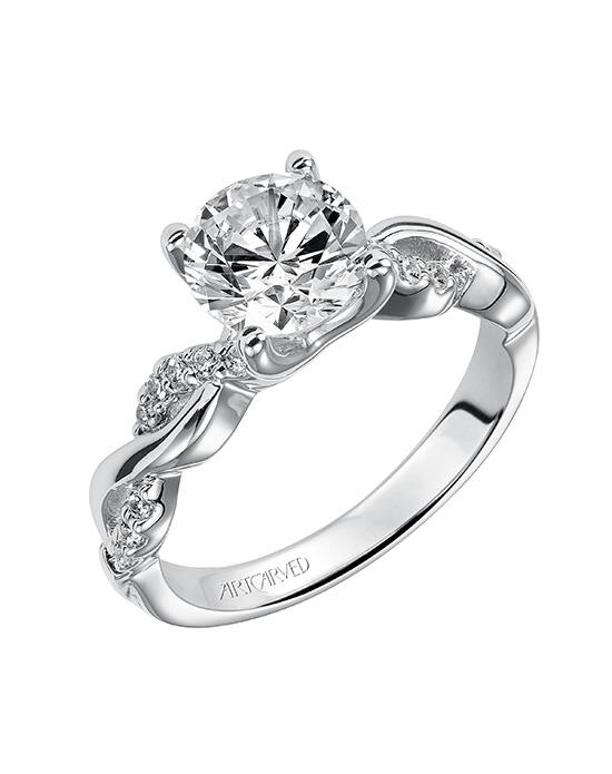 ArtCarved 31-V319GRW-E.00 Engagement Ring photo