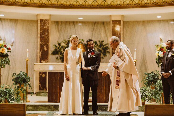 Catholic Wedding Ceremony in Detroit, Michigan
