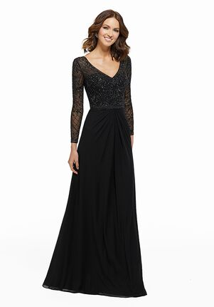 MGNY 72030 Black,Red Mother Of The Bride Dress