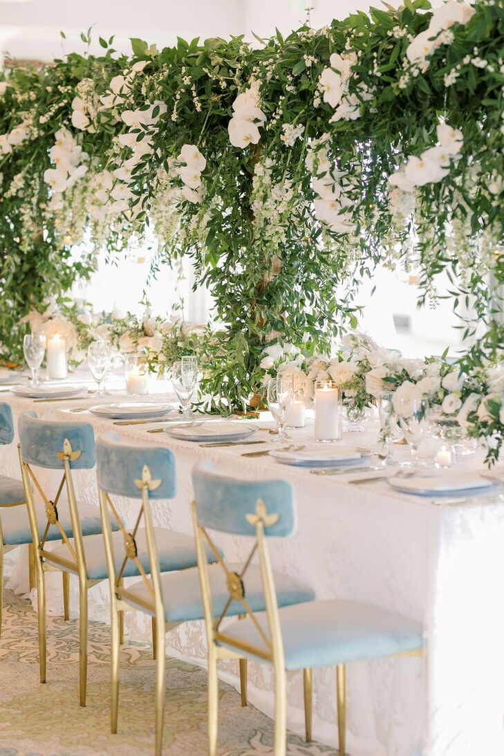 Erin and Nate's wedding at the Seabrook Island Club in South Carolina embodied a modern take on a romantic wedding, complete with a dreamy color palet