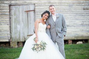 Stylish Curled Bridal Updo