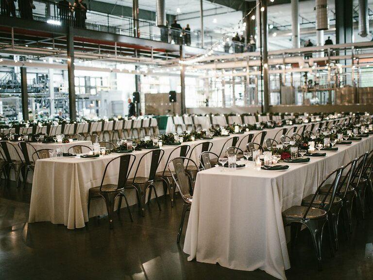 Brewery wedding venue in Denver, Colorado.