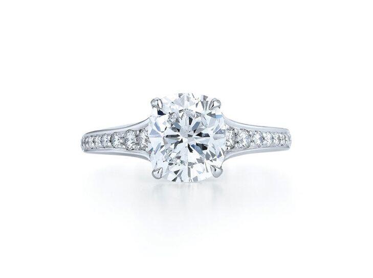 kwiat cushion cut engagement ring