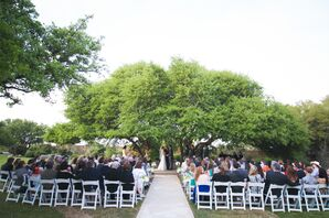 Outdoor Ceremony at Antebellum Oaks Venue