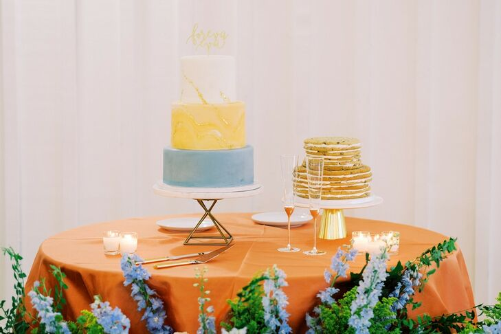 Cake and Cookie Cake at The Farmhouse in Montgomery, Texas