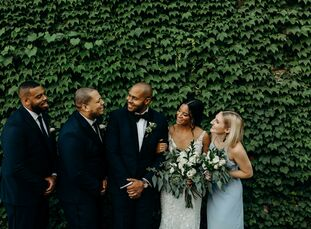When planning their wedding, Jasmine Flanagan (28 and a graduate student) and Sean White (31 and a director of fund development) both felt a strong pu