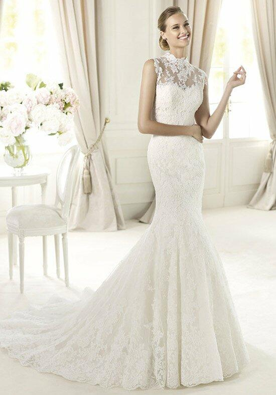 Pronovias ugalde wedding dress the knot for Pronovias wedding dresses price range