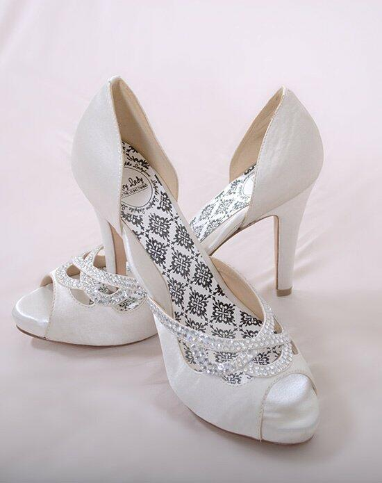 Hey Lady Shoes Knotty Girl White Wedding Shoes photo