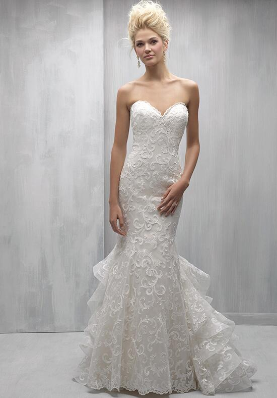Madison james mj263 wedding dress the knot for Madison james wedding dress prices