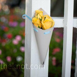 Yellow Rose Cones